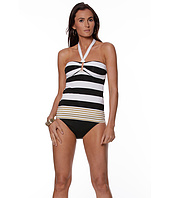 LAUREN Ralph Lauren - Regatta Stripe Ring Front Bandini Top