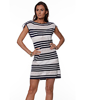 LAUREN Ralph Lauren - Pointelle Stripe Jersey Dress