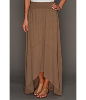 Michael Stars - Slub Jersey With Coile Mix Hi-Low Maxi Skirt