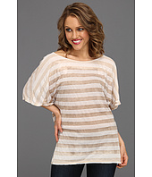 Michael Stars - Horizon Wash Stripe Off Shoulder Dolman Tee