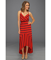 Michael Stars - Alba Hi-Low Stripe Modal Jersey Maxi Dress