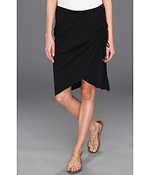 Michael Stars - Jersey Knit Shirred Skirt w/ Tie