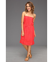 Michael Stars - Textured Cotton Strapless Crochet Dress