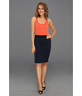 Michael Stars - Bette Color Block Racer Back Midi Dress