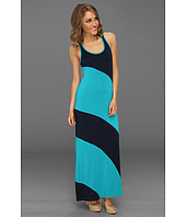 Michael Stars - Stella Color Block Modal Jersey Maxi Dress