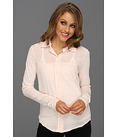 Michael Stars - Luxe Slub w/ Voile Button Up Shirt