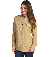 Gabriella Rocha - Yesenia Corduroy Button Up Top