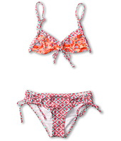 O'Neill Kids - In Love Tie Front Bikini Set (Big Kids)