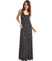 Calvin Klein - Tweed Stripe Bias Cut Maxi Dress
