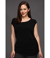 Calvin Klein - Plus Size Sleeveless Side Smock Top