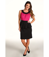 Christin Michaels - Steffie Peplum Dress
