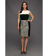 Calvin Klein - Plus Size Combo Print Shift Dress