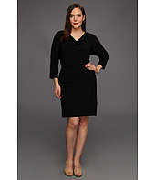 Calvin Klein - Plus Size Three Quarter Sleeve Dress