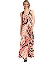 Calvin Klein - Swirl Printed Maxi Dress