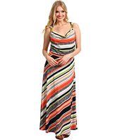 Calvin Klein - Vintage Stripe Maxi Dress w/Hardware