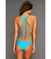 MIKOH SWIMWEAR - Xavier Crochet Back One-Piece Swimsuit