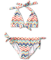 Roxy Kids - Eternal Summer Knotted 70's Set w/ Cups (Big Kids)