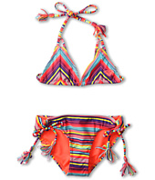 Roxy Kids - Sea Side Fringe Tiki Set (Big Kids)