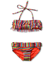 Roxy Kids - Sea Side Fringe Bandeau Set (Big Kids)
