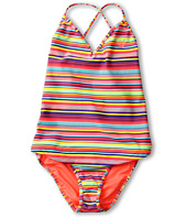 Roxy Kids - Sea Side Cross Over Tankini Set (Big Kids)