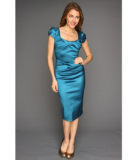 Stop Staring! for The Cool People - Billion Dollar Baby Dress (Aqua) - Apparel