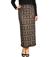 Christin Michaels - Plus Size Wrena Lace Maxi Skirt