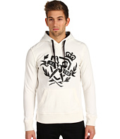 Marc Ecko Cut & Sew - Faux Leather Appliqué Hoodie
