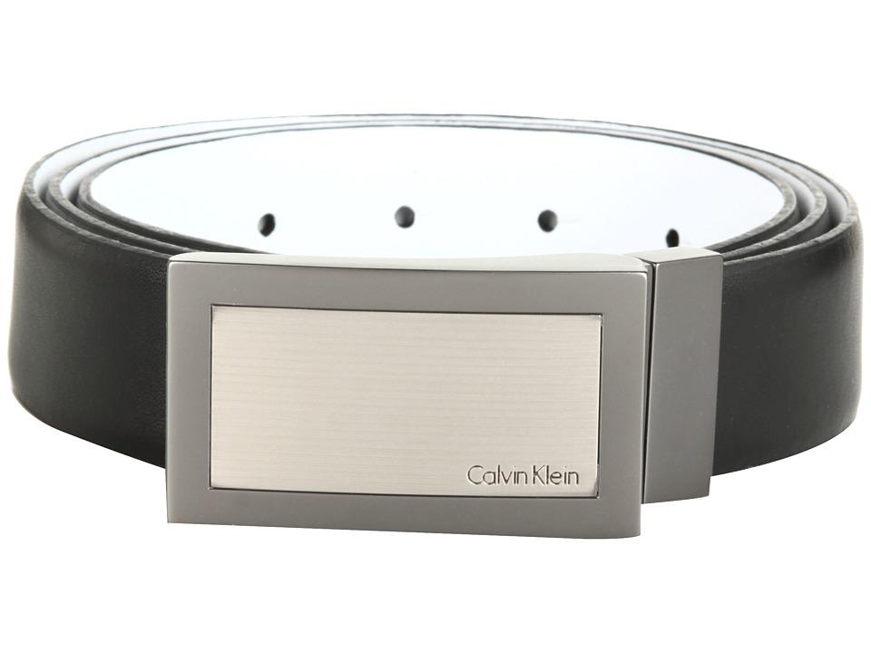 Calvin Klein 32MM Reversible Belt Black/White Mens Belts