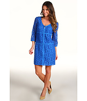 Laundry by Shelli Segal - Crochet Lace Shift Dress