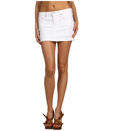 short jean skirt