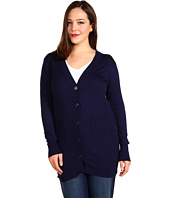Christin Michaels - Plus Size Raffa Long Sleeve Cardigan