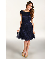 Laundry by Shelli Segal - Cap Sleeve Lace Dress