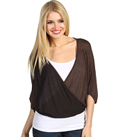 Christin Michaels - Roslyn Wrap Knit Top