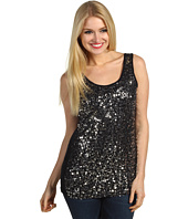 Christin Michaels - Esmeralda Sequin Tank Top