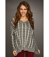 Christin Michaels - Leana V-Neck Sweater