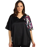 Kenneth Cole New York - Plus Size Placed Peony Top