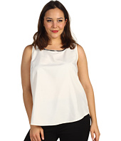 Kenneth Cole New York - Plus Size Embellished Poly Charm Tank