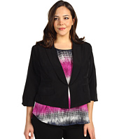 Kenneth Cole New York - Plus Size Relaxed Fit Jacket