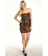 Gabriella Rocha - Edra Cheetah Peplum Dress