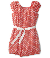 Us Angels - Chiffon Bubble Dress w/ Ribbon Tie (Big Kids)