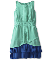 Us Angels - Halter Look Dress w/ Flounce Hem (Big Kids)