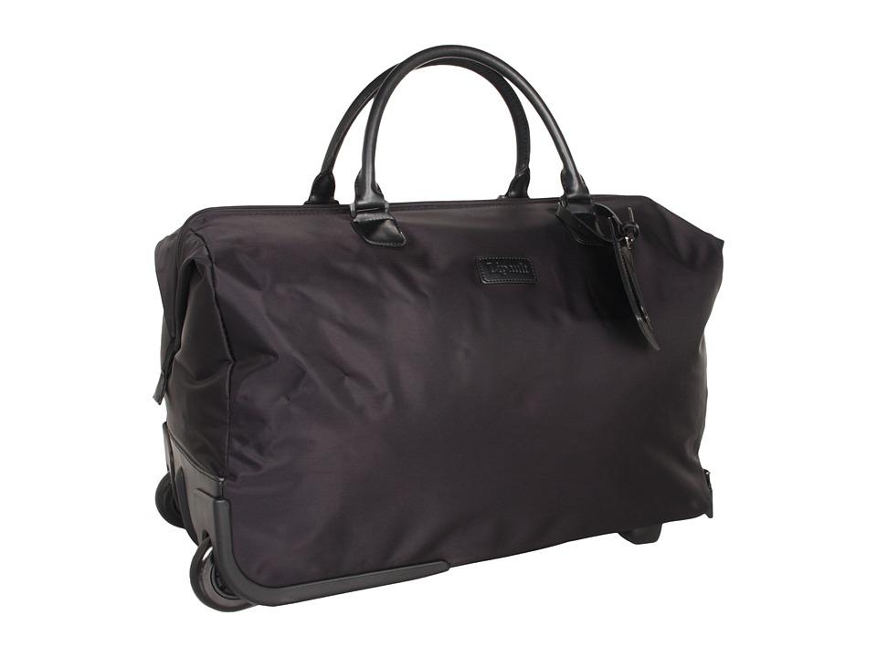 Lipault Paris - JPS Series - 2-Wheeled 20 Satchel (Black) Bags