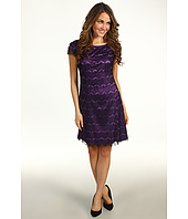 Donna Morgan - Virginia Cap Sleeve Fit & Flare Dress