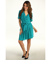 Donna Morgan - Elastic Waist Mock Wrap Dress