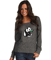 L-R-G - Panda Scoop Neck Sweatshirt