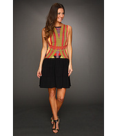Mark & James by Badgley Mischka - Mark & James Printed Color Block Dress