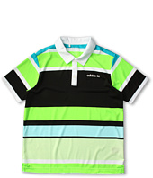 adidas Golf Kids - Fashion Performance Enginerred Stripe Polo (Big Kids)