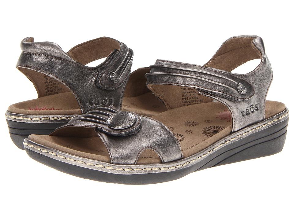 Taos Footwear - Escape (Pewter) Women's Sandals