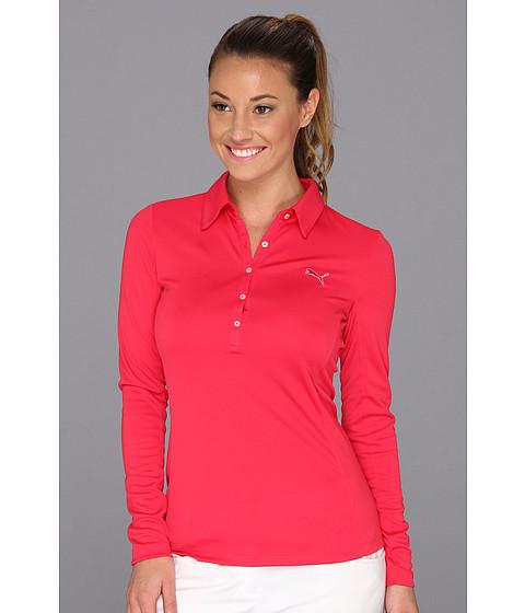 Search Puma Golf Golf Long Sleeve Polo Shirt 13