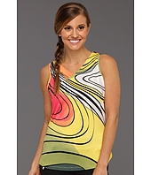 Jamie Sadock - Active Ecco Print V-Neck Top